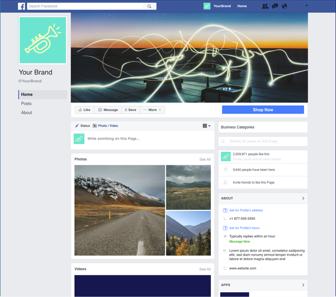 Free Facebook Video Covers Promo Marketing Video Maker